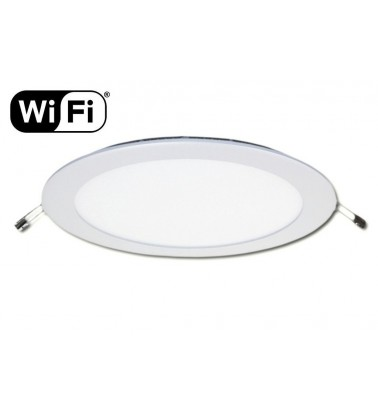 18W LED Panel, 120°, 2.4GHz RF/WiFi ready, adjustable light color temperature, ∅225mm