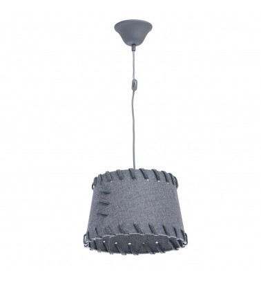 light grey color/ metal lampshade 1*60W E27 IP20