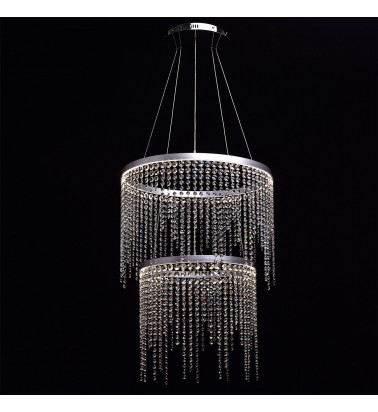 silver color/metal crystal/acryl 26+36W LED 4000K