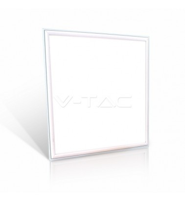 45W LED Panel, white frame, 120°, daylight, 595x595mm, V-TAC
