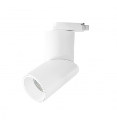 """12W LED Tracklight """"Cut"""", track mounted, warm white light"""