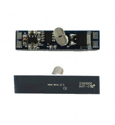 LED strip dimmer for LED profiles, touchable